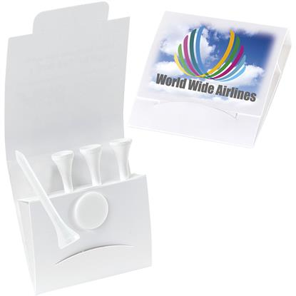 Picture of 4-1 Golf Tee Packet - Value Pak – 2-1/8 tees