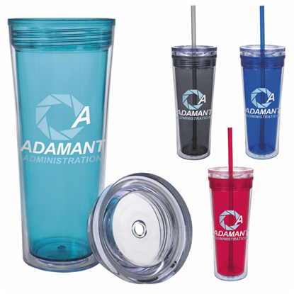 Picture of Jolly Straw Tumbler - 14 oz.