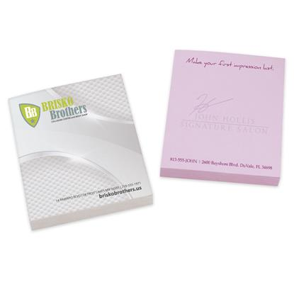 "Picture of BIC® 2-3/4"" x 3"" Adhesive Notepad, 100 Sheet Pad"
