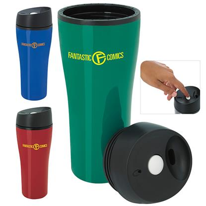 Picture of Acrylic Tumbler with Press Button Lid - 15 oz.