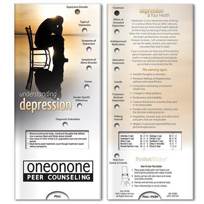 Picture of Pocket Slider: Understanding Depression
