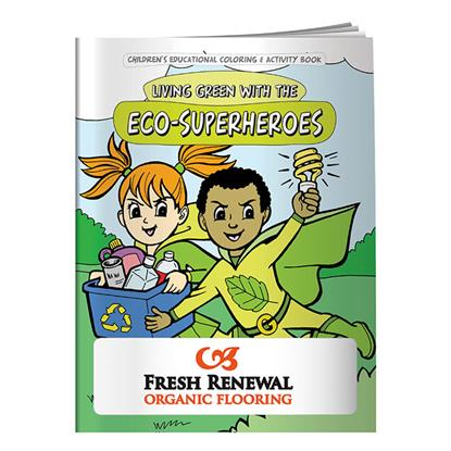 Picture of Coloring Book: Eco-Superheroes