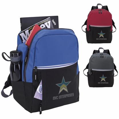 Picture of Zip-It-Up Computer Backpack