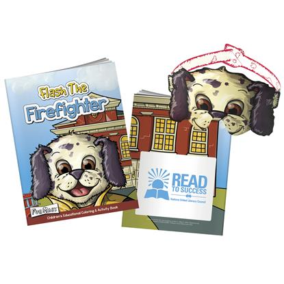 Picture of Coloring Book with Mask: Flash The Firefighter