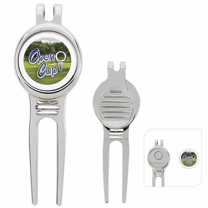 Picture of Golfers Divot Tool with Ball Marker