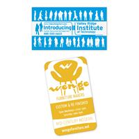 Picture of BIC® Economy Business Card Magnet