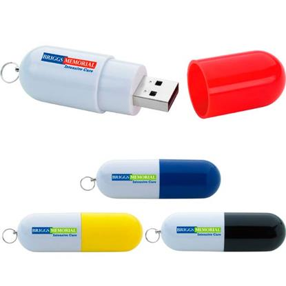 Picture of 8 GB Capsule USB 2.0 Flash Drive