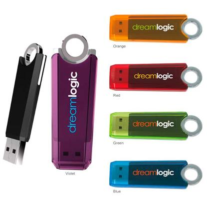 Picture of 256 MB Ring USB 2.0 Flash Drive