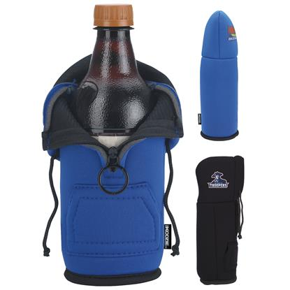 Picture of Koozie® Hoodie Bottle Kooler