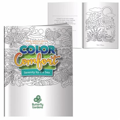Picture of Adult Coloring Book -  Serenity by the Sea