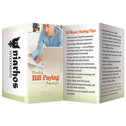 Picture of Key Point: Monthly Bill Paying Organizer