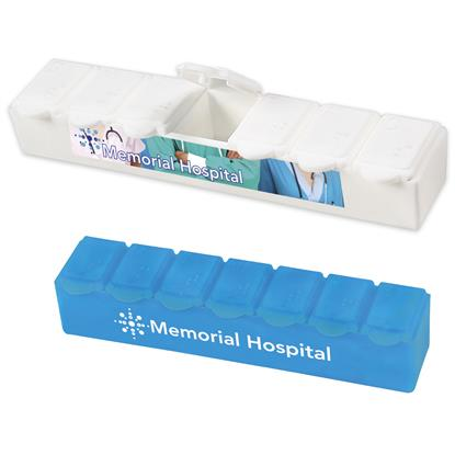 Picture of Jumbo 7-Day Strip Pill Box