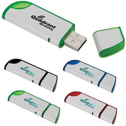 Picture of 4 GB Slanted USB 2.0 Flash Drive
