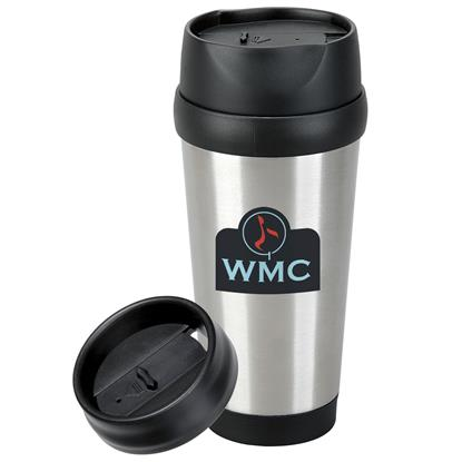 Picture of Modern Stainless Steel Tumbler - 16 oz.