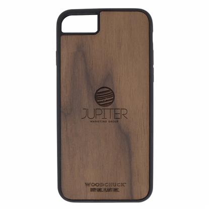 Picture of Walnut Wood Phone Case 7/8