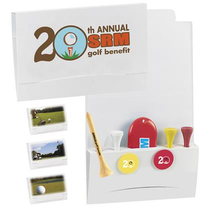 "Picture of 4-2-1 Golf Tee Packet - 2-1/8"" Tee"