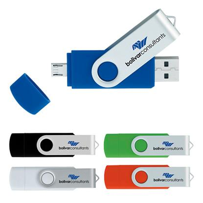 Picture of 16 GB On The Go USB 2.0 Flash Drive
