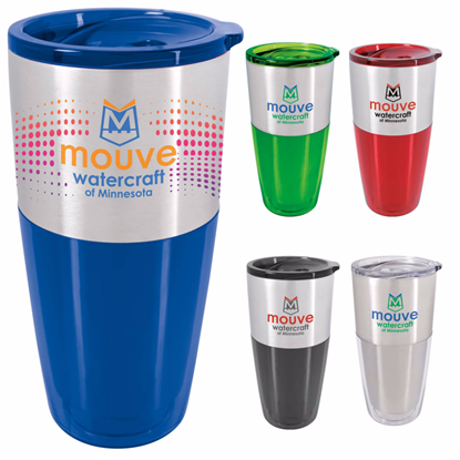 Picture of Split Color Acrylic Tumbler - 20 oz.