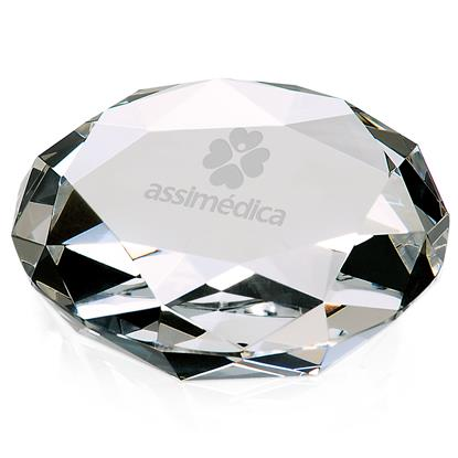 Picture of Faceted Paperweight