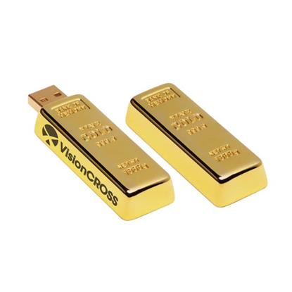 Picture of 1 GB Golden Nugget USB 2.0 Flash Drive