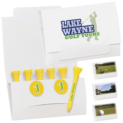 "Picture of 6-2 Golf Tee Packet - 2-1/8"" Tee"