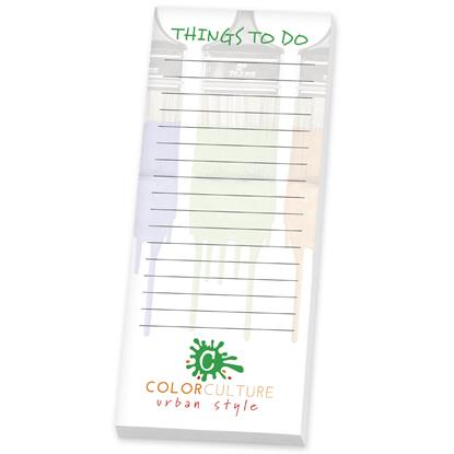 """Picture of BIC® Ecolutions® 3"""" x 8"""" Adhesive Notepad, 50 Sheet Pad"""