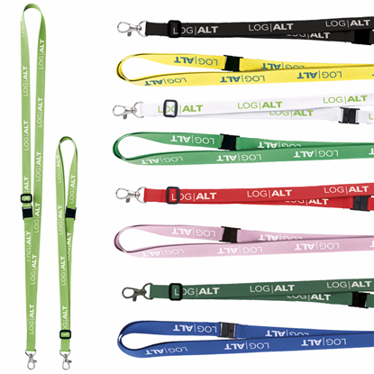"Picture of 5/8"" Adjustable Polyester Lanyard"
