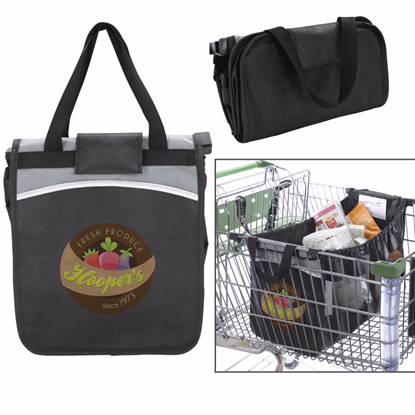 Picture of Expandable Grocery Cart Tote