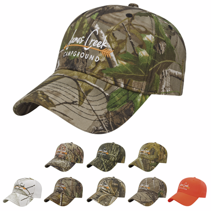 Picture of Cap America Camouflage Structured Panel Cap