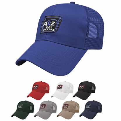 Picture of Cap America Mesh Back Solid Cap