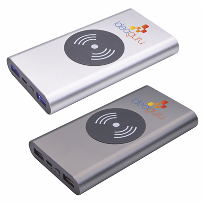 Picture of Aluminum HD Wireless Power Bank 10000 mAh