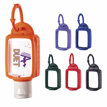 Picture of 1.0 oz. Hand Sanitizer with Silicone Leash