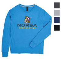Picture of Hanes® X-Temp® Long Sleeve Crew T-Shirt