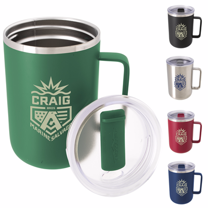 Picture of Crossland® Vacuum Camp Mug - 15 oz.