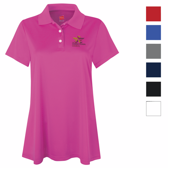 Picture of Hanes® Women's Cool DRI® Short Sleeve Polo