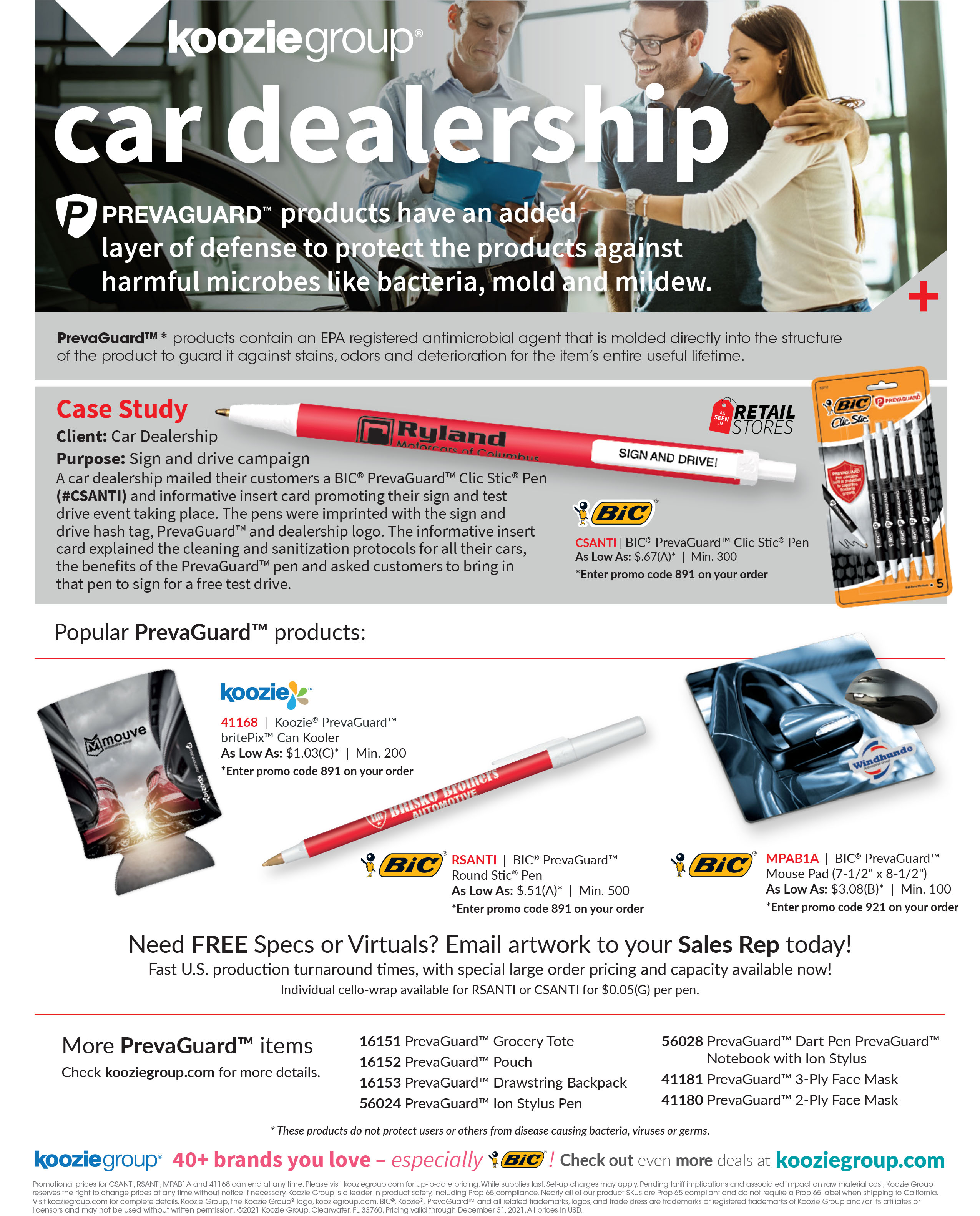 PrevaGuard Car Dealership